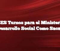 ANSES Turnos para el Ministerio de Desarrollo Social Como Sacar