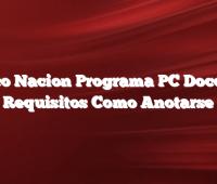 Banco Nacion Programa PC Docentes  Requisitos Como Anotarse