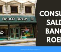 Home Banking del Banco Roela Como consultar Saldo Tarjeta Roela
