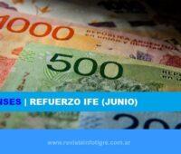 Confirmado Bono IFE de Junio de $10.000 Junio 2020