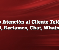 Claro Atención al Cliente Teléfono 0800, Reclamos, Chat, WhatsApp