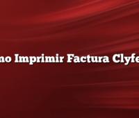 Como Imprimir Factura Clyfema