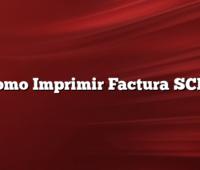Como Imprimir Factura SCPL