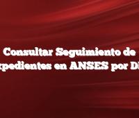 Consultar Seguimiento de Expedientes en ANSES por DNI
