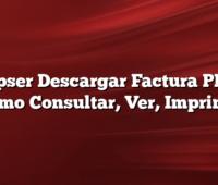 Coopser Descargar Factura PDF Y  Como Consultar, Ver, Imprimir