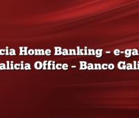 Galicia Home Banking  –  e-galicia y Galicia Office  –  Banco Galicia