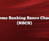 Home Banking Banco Chaco (NBCH)