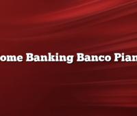 Home Banking Banco Piano