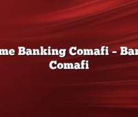Home Banking Comafi –  Banco Comafi