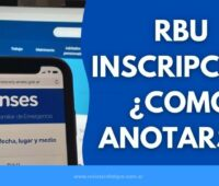 RBU Inscripciones 2020 Como Anotarse