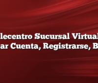 Telecentro Sucursal Virtual Y  Crear Cuenta, Registrarse, Baja