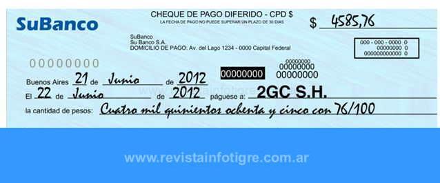 Endosar un Cheque en Argentina ¿Cómo hacerlo?