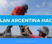 Plan Argentina Hace 2020, empleados de construcción