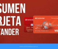 Cómo VER Resumen de Tarjeta de Crédito Santander Río
