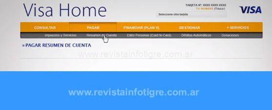 Cómo Crear y Recuperar Usuario y Clave en Visa Home